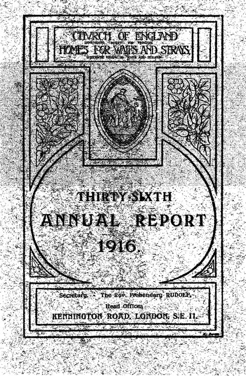 Annual Report 1916 - page 1