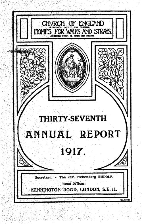Annual Report 1917 - page 1
