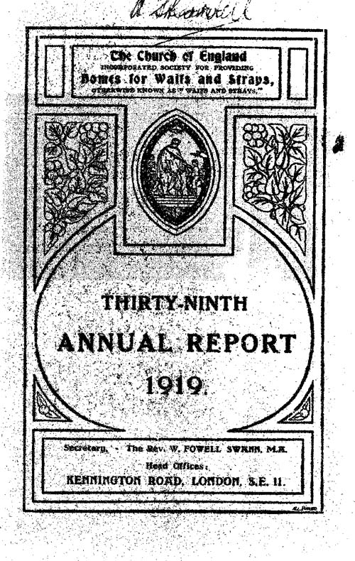 Annual Report 1919 - page 1