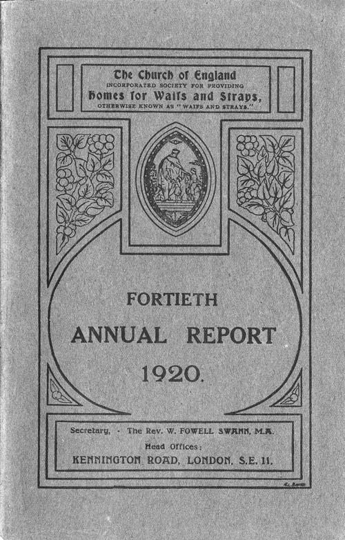 Annual Report 1920 - page 1