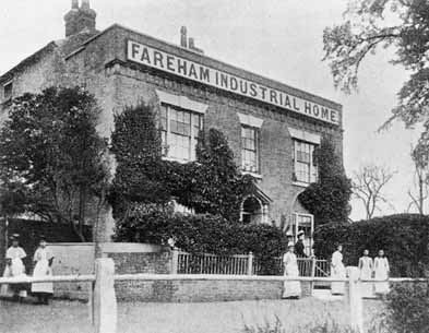The Fareham Industrial Home was threatened with imminent closure, when the Waifs and Strays' Society rescued it in 1884. Under the Society's care, the Home continued to train older girls for domestic service until its closure in 1939.