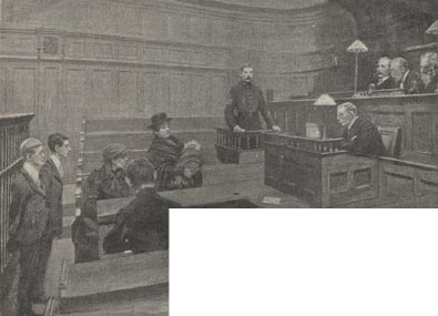 The introduction of children's courts was an important measure in the development of youth justice, allowing trials and sentencing more appropriate to the offender's age. Those found guilty in these courts were often sent to industrial schools. Many children came into the Society's care through this route. The Children's Society today continues working with Youth Justice issues - and acts as advocates for children and young people.