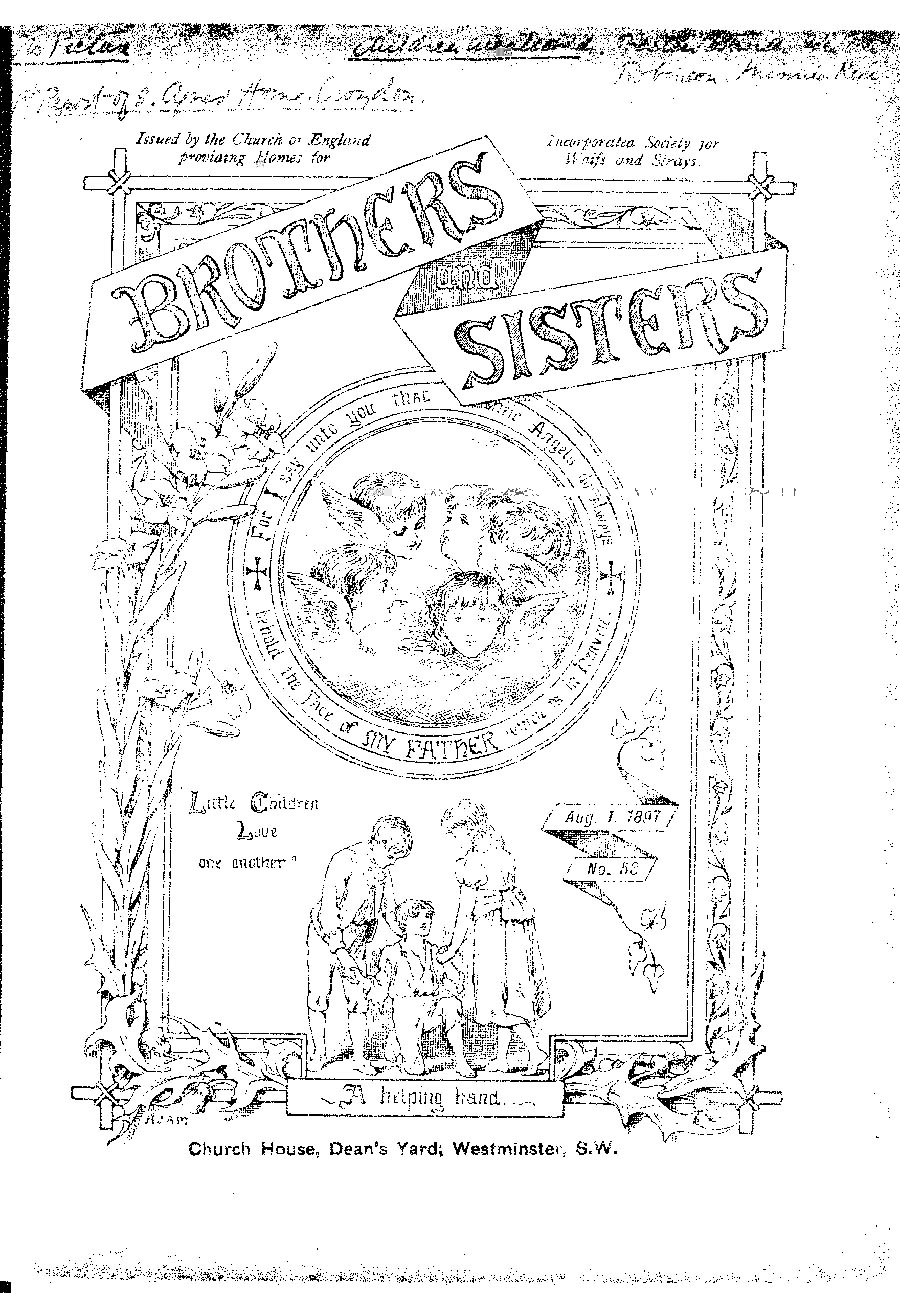 Brothers and Sisters August 1897 - page 1