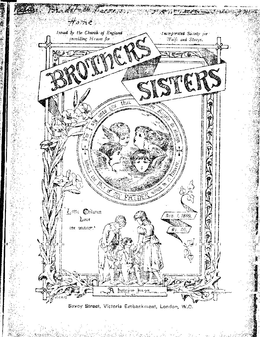 Brothers and Sisters November 1899 - page 1