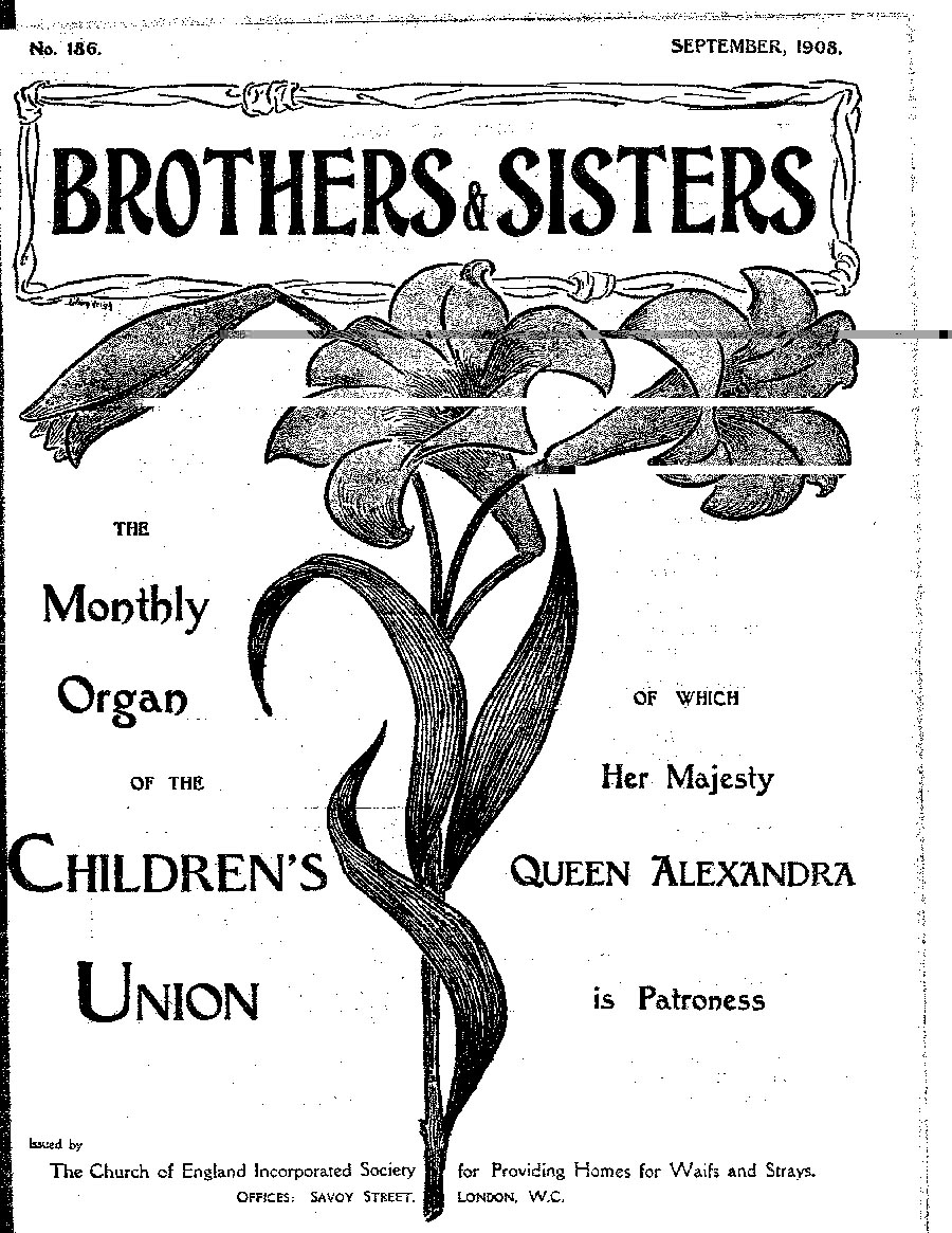Brothers and Sisters September 1908 - page 1