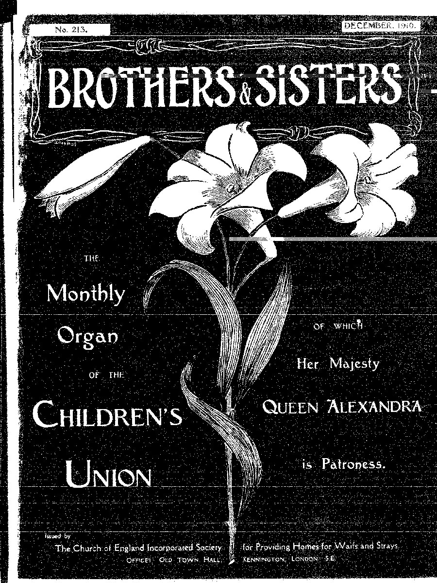 Brothers and Sisters December 1910 - page 1