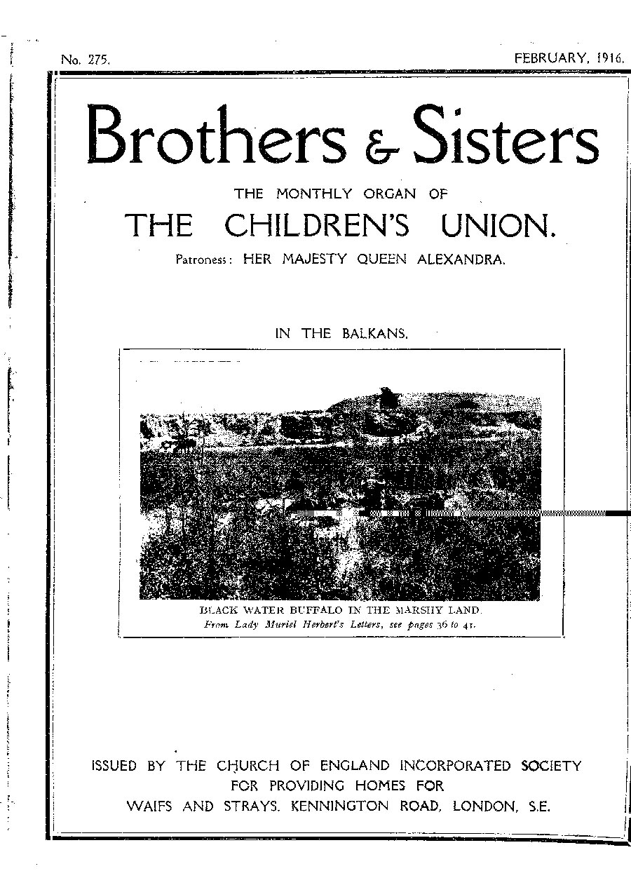 Brothers and Sisters February 1916 - page 1