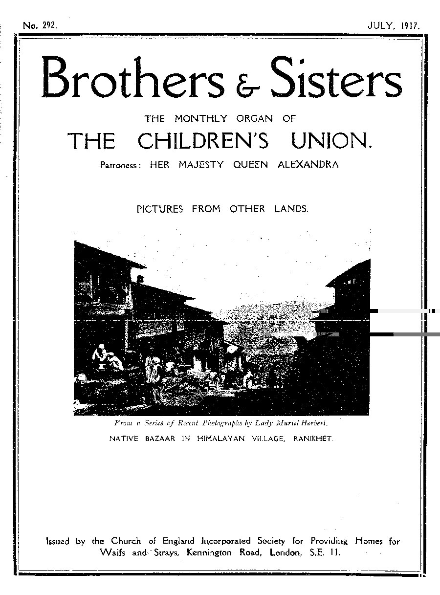 Brothers and Sisters July 1917 - page 1