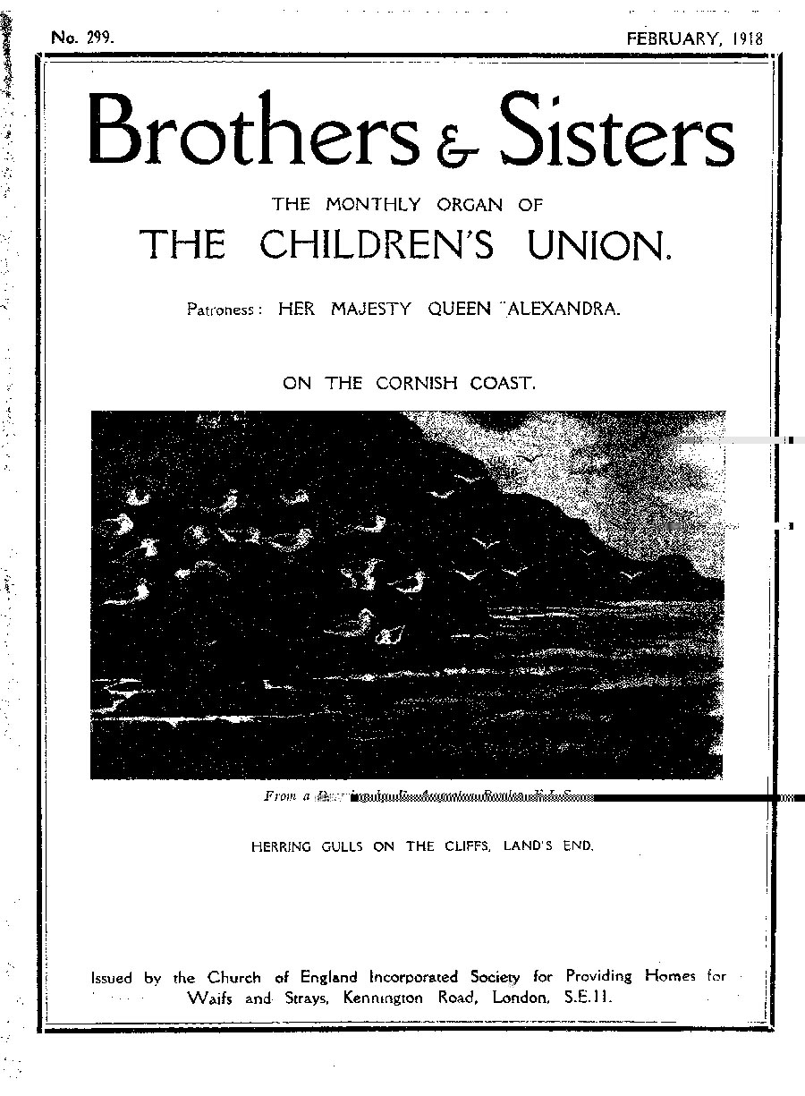 Brothers and Sisters February 1918 - page 1