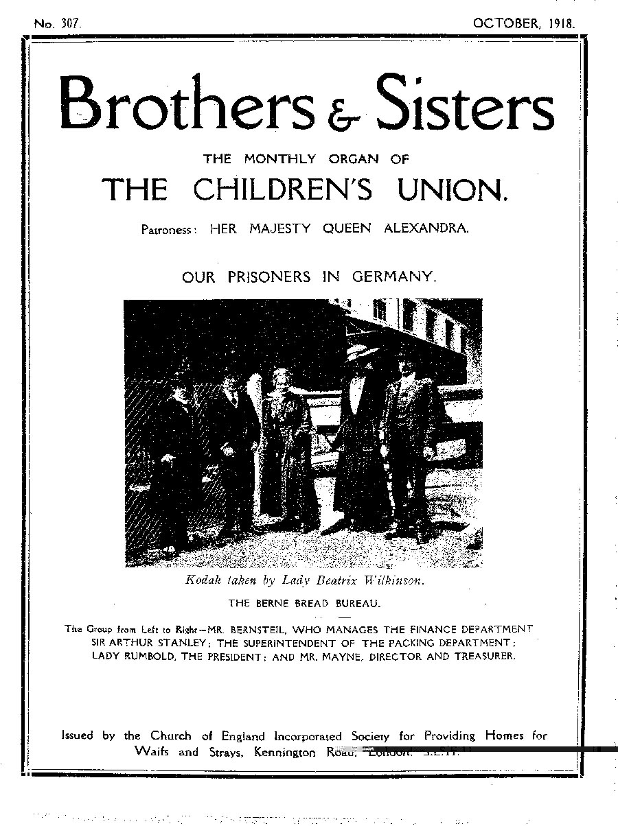 Brothers and Sisters October 1918 - page 1
