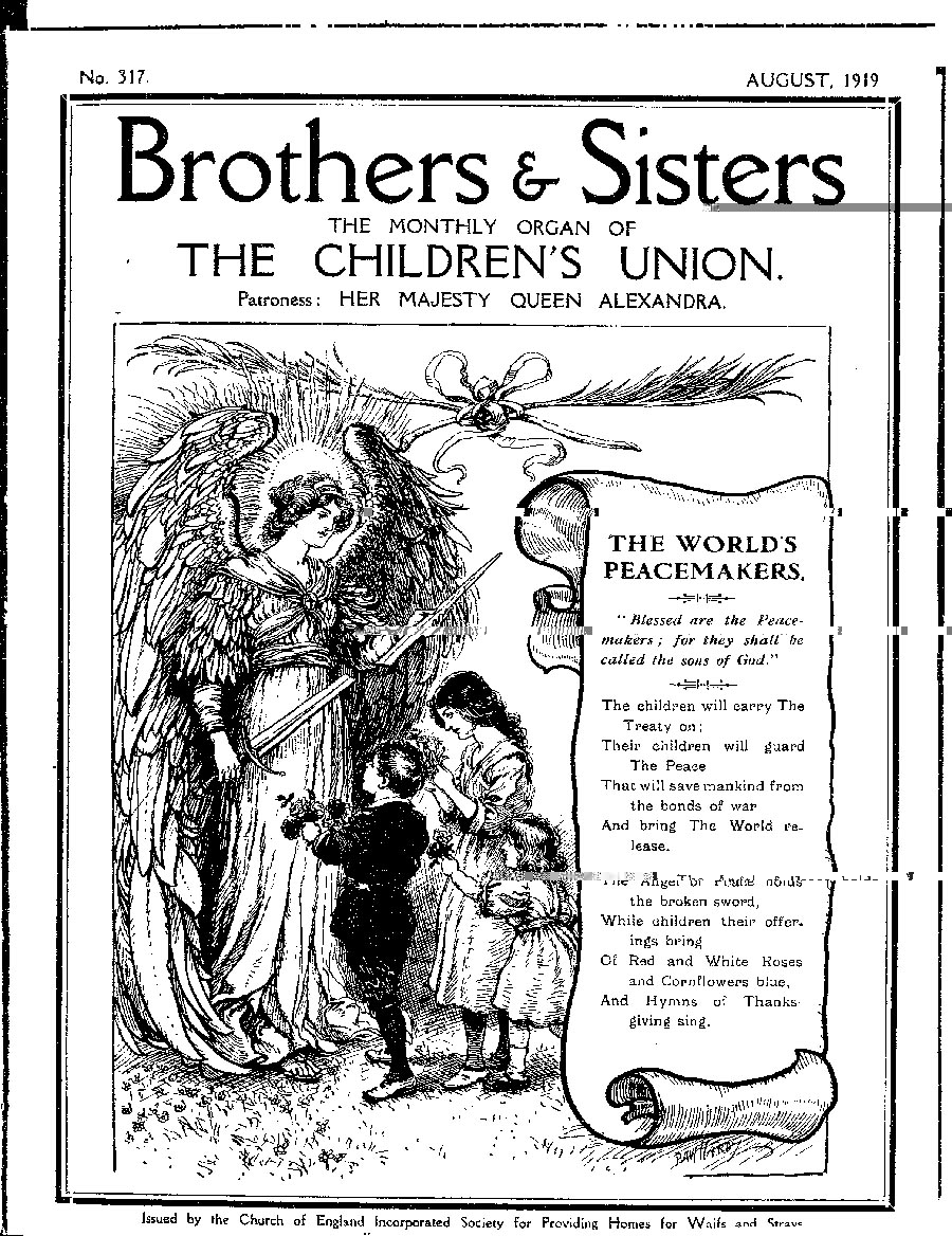 Brothers and Sisters August 1919 - page 1