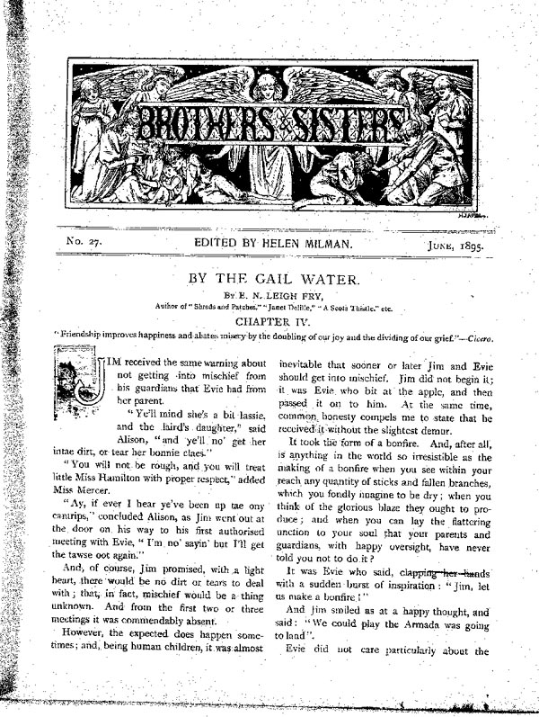 Brothers and Sisters June 1895 - page 1