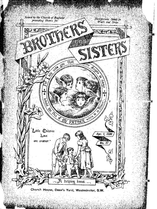 Brothers and Sisters April 1896 - page 1