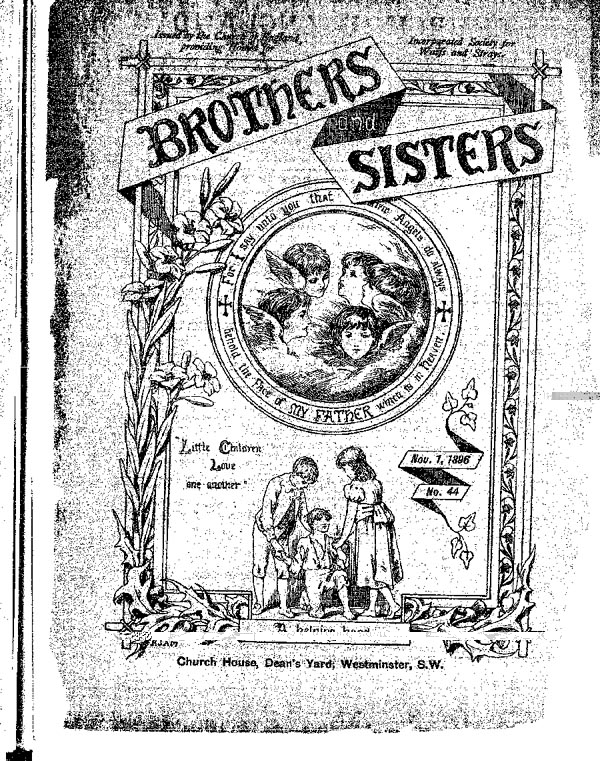Brothers and Sisters November 1896 - page 1