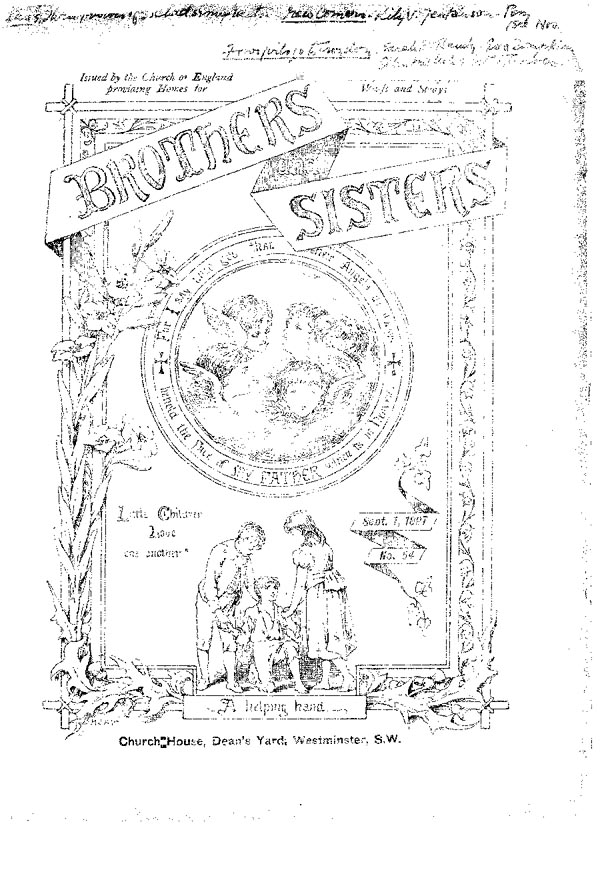 Brothers and Sisters September 1897 - page 1