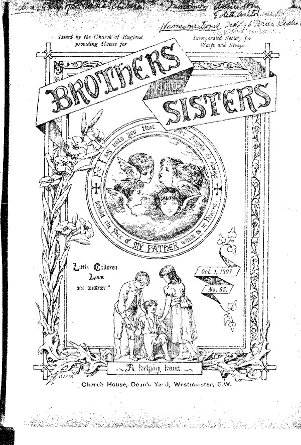 Brothers and Sisters October 1897 - page 1