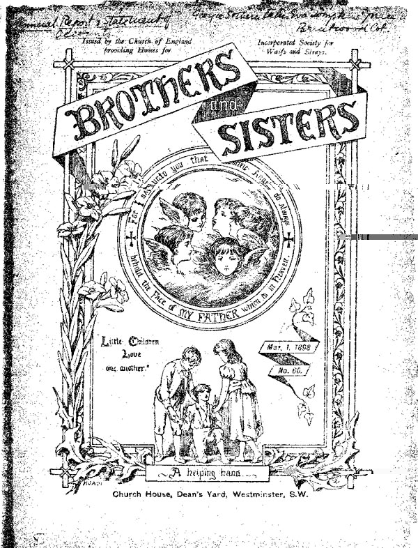 Brothers and Sisters March 1898 - page 1