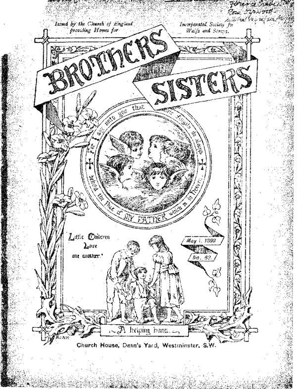 Brothers and Sisters May 1898 - page 1