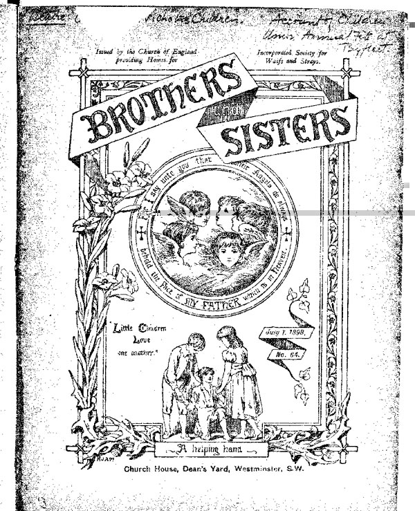 Brothers and Sisters July 1898 - page 1