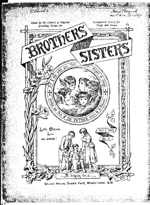 Brothers and Sisters October 1898 - page 1