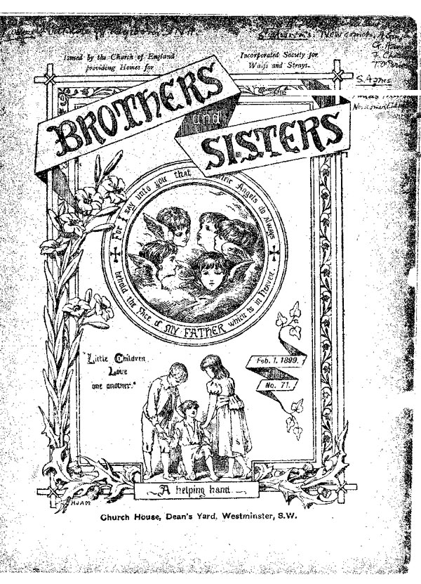 Brothers and Sisters February 1899 - page 1