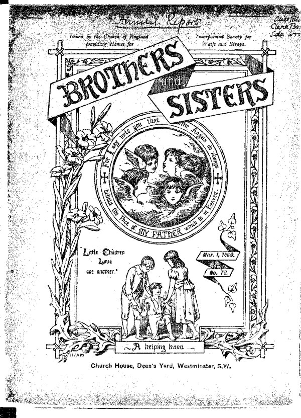 Brothers and Sisters March 1899 - page 1