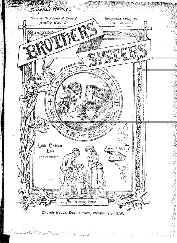 Brothers and Sisters June 1899 - page 1