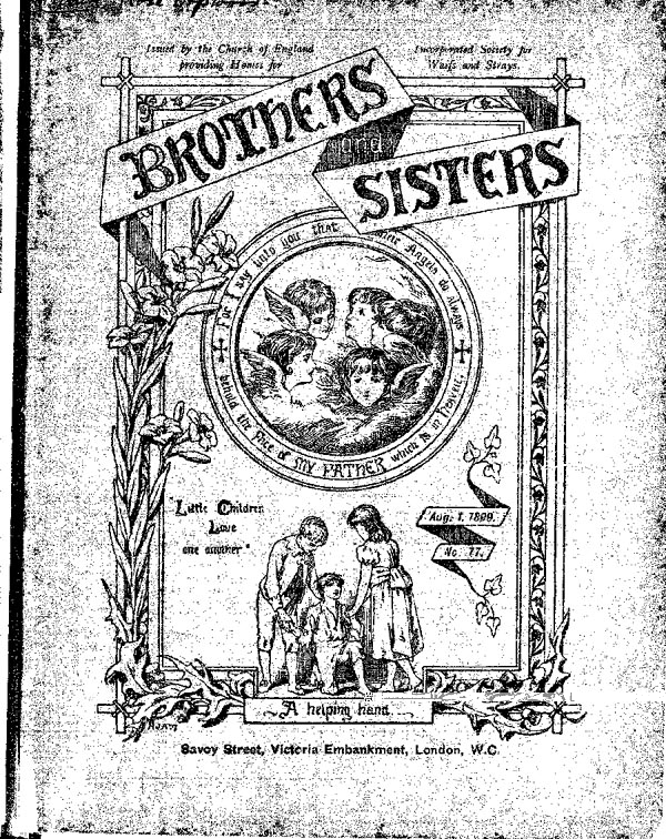 Brothers and Sisters August 1899 - page 1