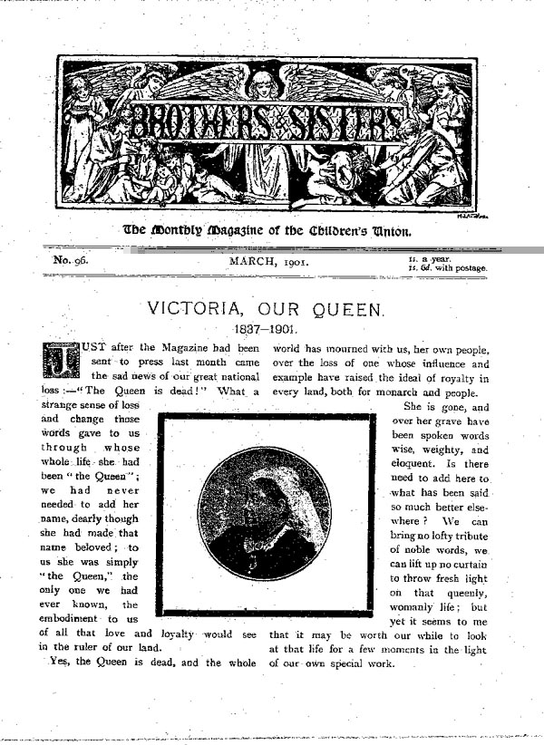 Brothers and Sisters March 1901 - page 1