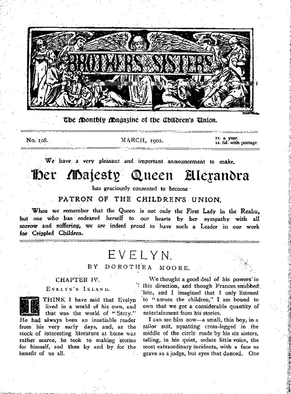Brothers and Sisters March 1902 - page 1