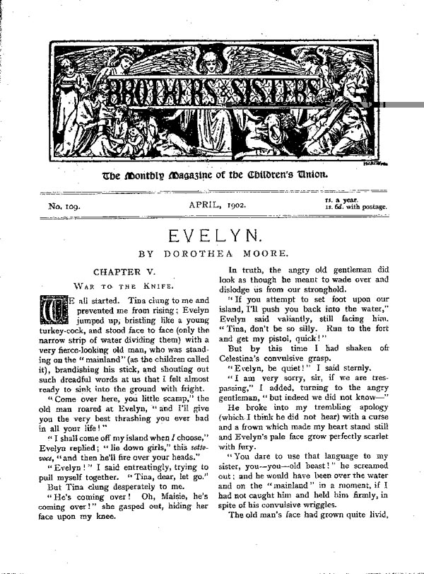 Brothers and Sisters April 1902 - page 1