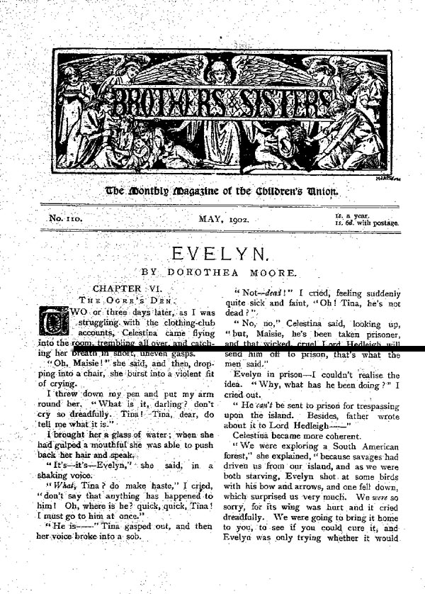 Brothers and Sisters May 1902 - page 1