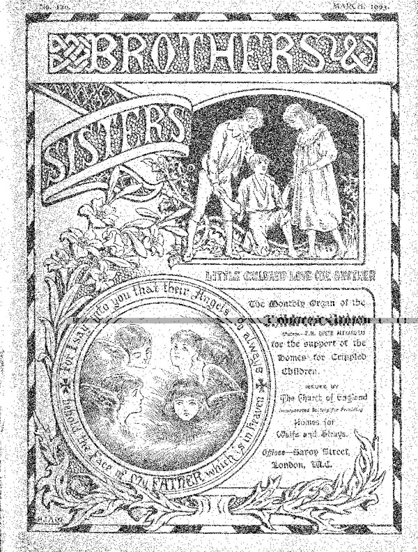 Brothers and Sisters March 1903 - page 1
