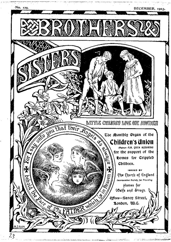Brothers and Sisters December 1903 - page 1