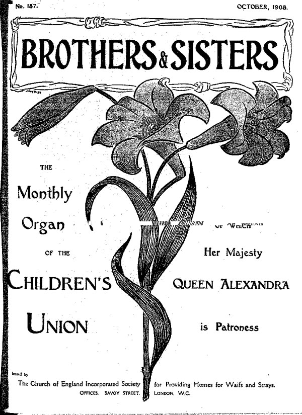 Brothers and Sisters October 1908 - page 1