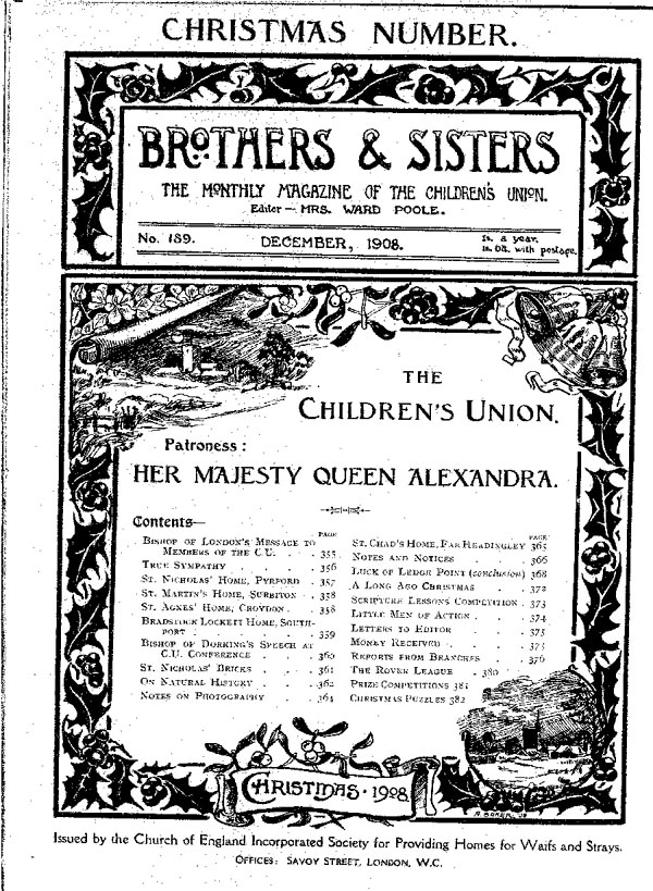 Brothers and Sisters December 1908 - page 1