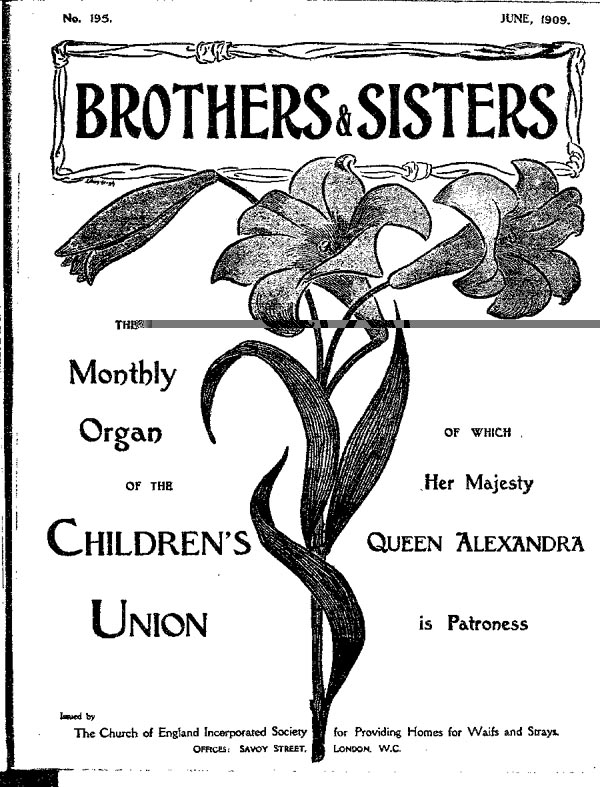 Brothers and Sisters June 1909 - page 1