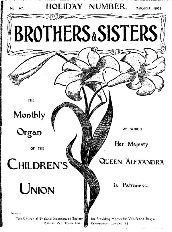 Brothers and Sisters August 1909 - page 1
