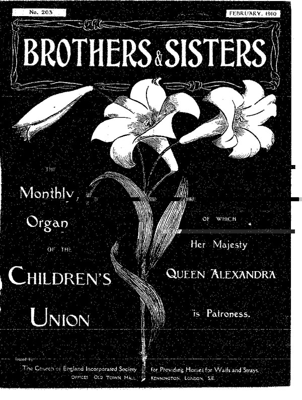 Brothers and Sisters February 1910 - page 1