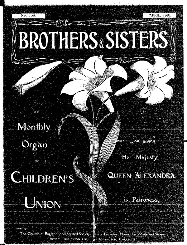 Brothers and Sisters April 1910 - page 1