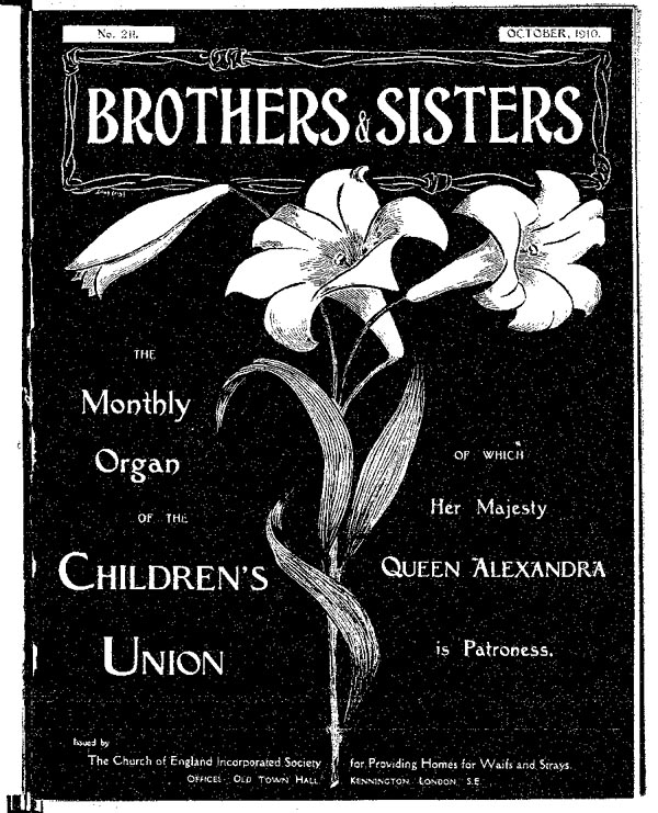 Brothers and Sisters October 1910 - page 1