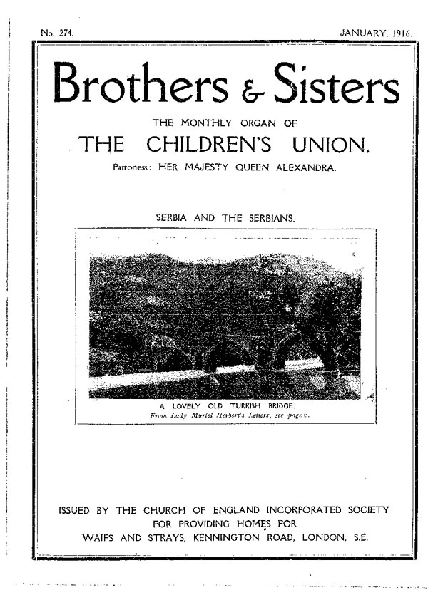Brothers and Sisters January 1916 - page 1