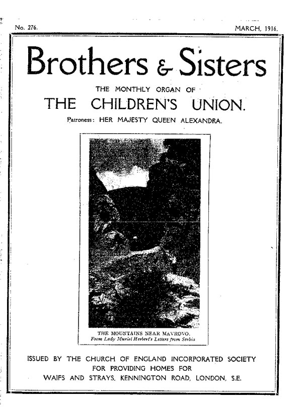 Brothers and Sisters March 1916 - page 1