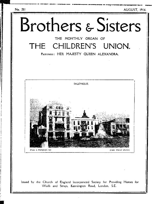 Brothers and Sisters August 1916 - page 1