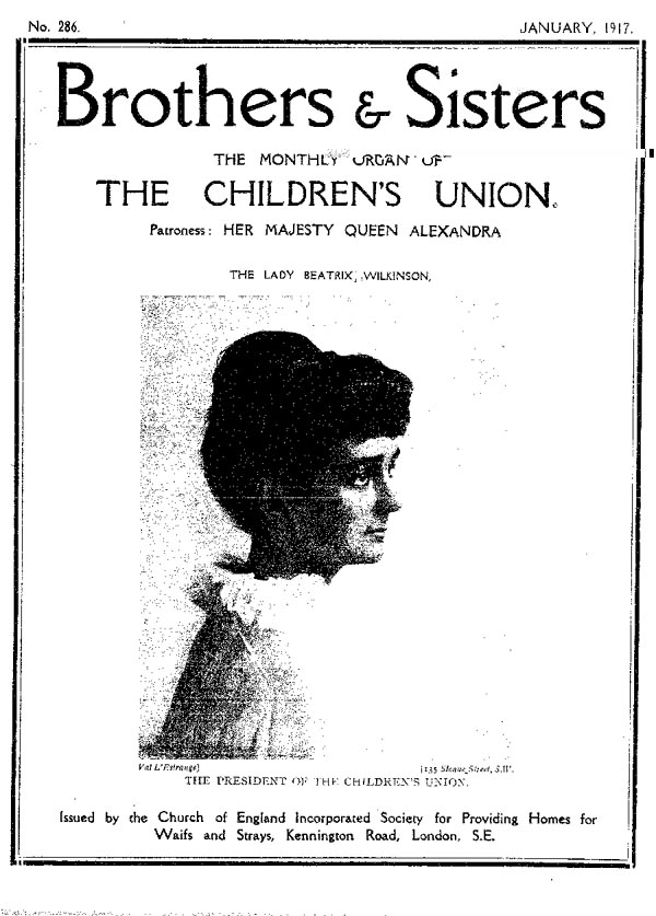 Brothers and Sisters January 1917 - page 1