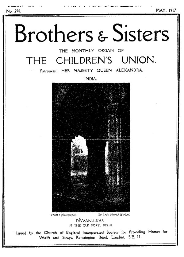 Brothers and Sisters May 1917 - page 1