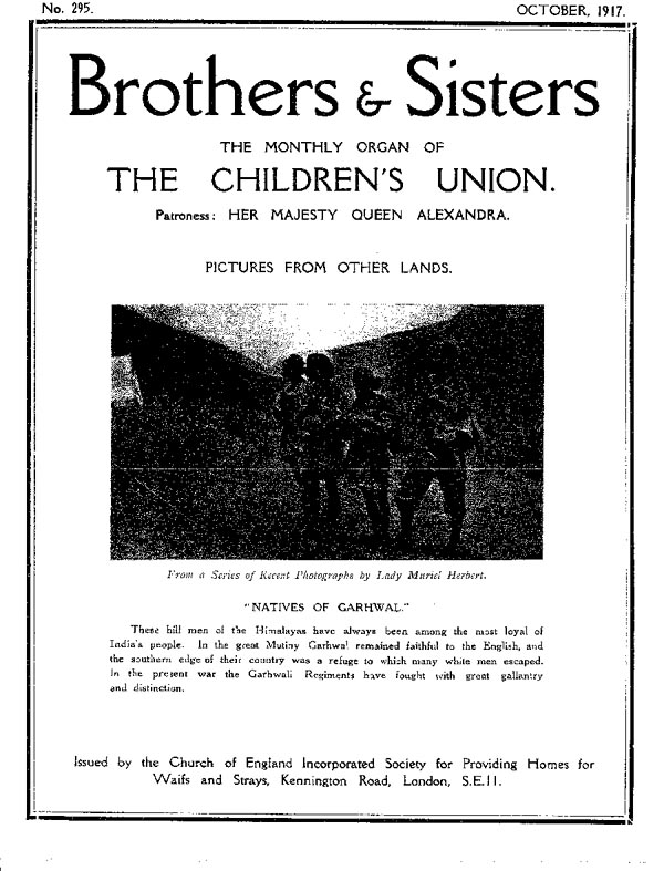 Brothers and Sisters October 1917 - page 1