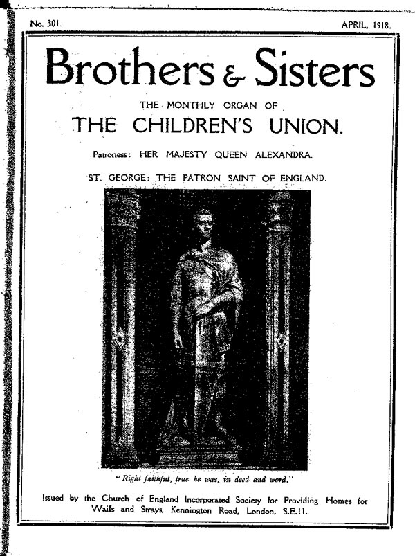 Brothers and Sisters April 1918 - page 1