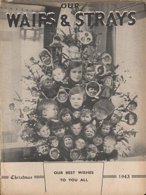 An innovative Christmas cover from 'Our Waifs and Strays.'