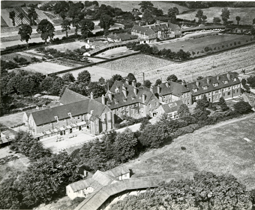 Photograph of St Nicholas' and St Martin's Orthopaedic Hospital and Special School, Pyrford